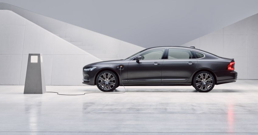 2021 Volvo S90 facelift launched in Malaysia – two variants; Recharge T8 Inscription Plus from RM339k Image #1285755