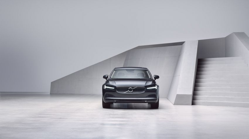 2021 Volvo S90 facelift launched in Malaysia – two variants; Recharge T8 Inscription Plus from RM339k Image #1285760