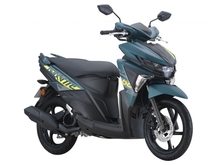 2021 Yamaha Avantiz updated for Malaysia, RM4,873 Image #1285807
