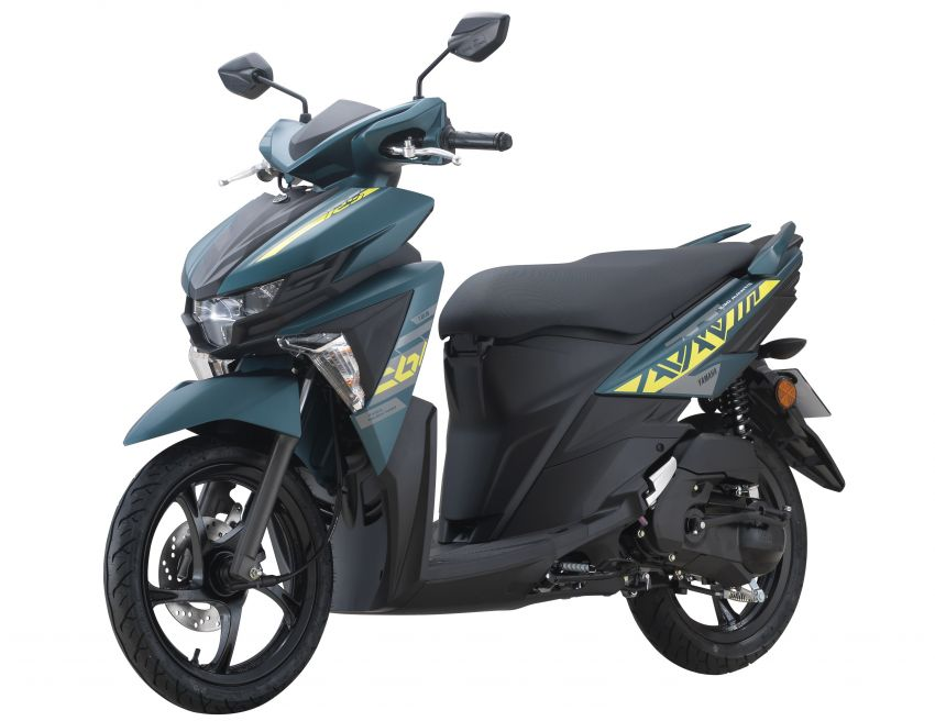 2021 Yamaha Avantiz updated for Malaysia, RM4,873 Image #1285808