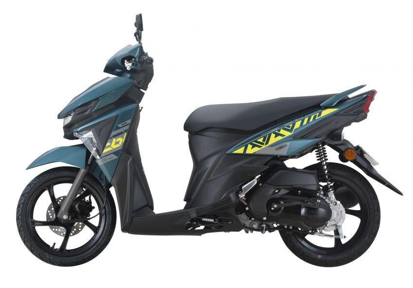 2021 Yamaha Avantiz updated for Malaysia, RM4,873 Image #1285809