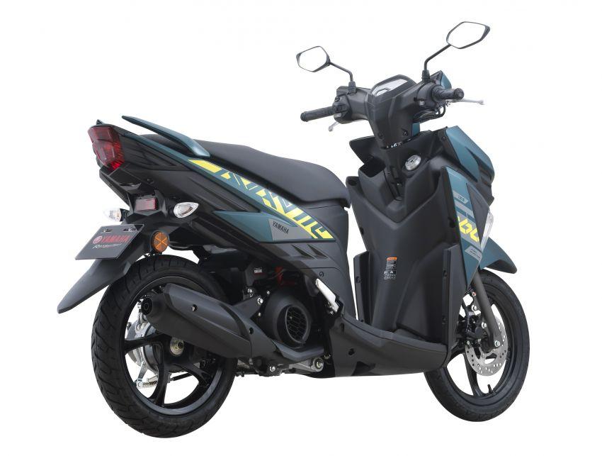 2021 Yamaha Avantiz updated for Malaysia, RM4,873 Image #1285812