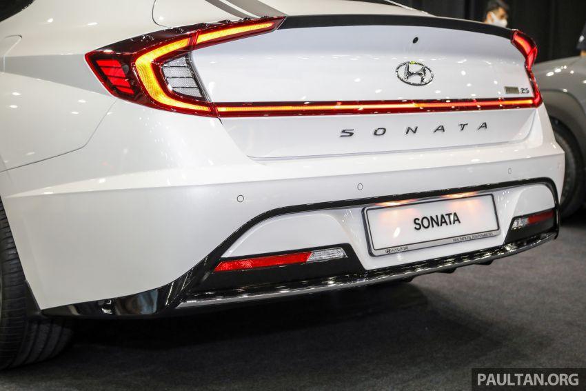 Hyundai Sonata Bob G Edition on display at ACE 2021 – black decals, 19-inch wheels, no change in price Image #1283083