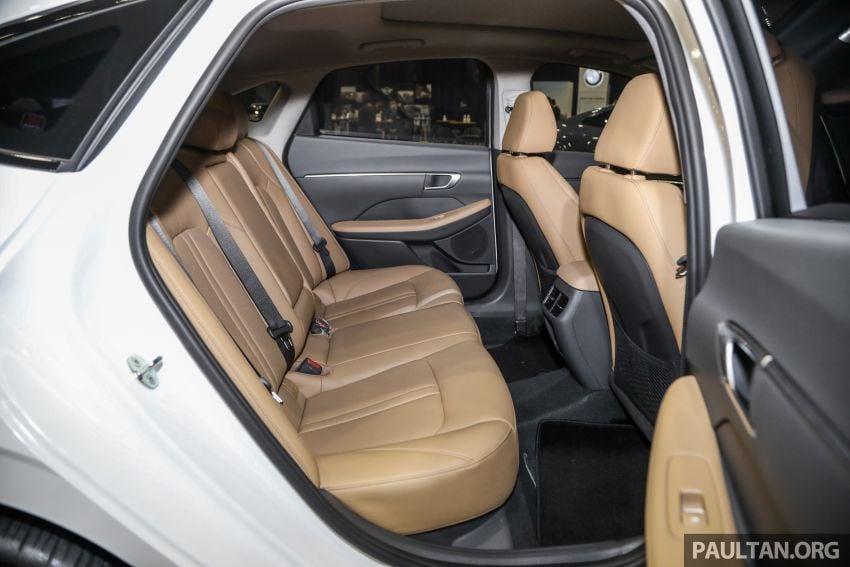 Hyundai Sonata Bob G Edition on display at ACE 2021 – black decals, 19-inch wheels, no change in price Image #1283088