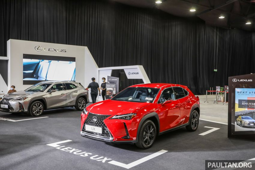 ACE 2021 – Lexus UX available with Next Step financing, immediate delivery, from RM1,938 per month Image #1282537