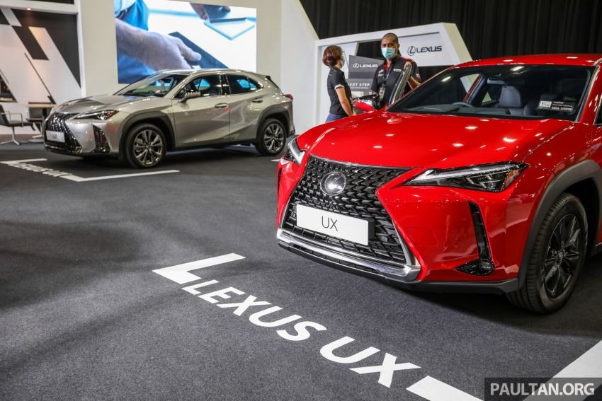 ACE 2021 – Lexus UX available with Next Step financing, immediate delivery, from RM1,938 per month Image #1282541