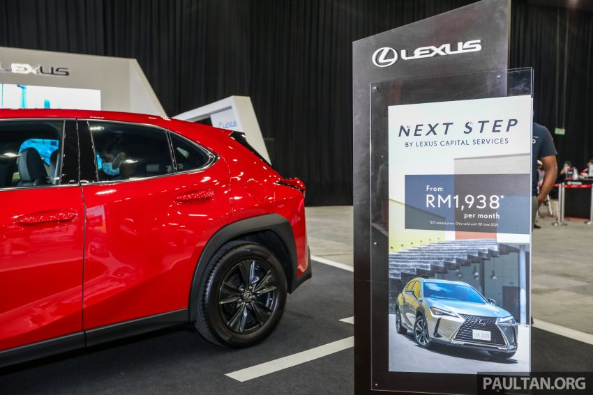 ACE 2021 – Lexus UX available with Next Step financing, immediate delivery, from RM1,938 per month Image #1282542