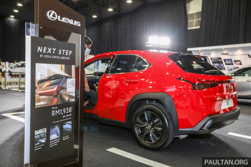 ACE 2021 – Lexus UX available with Next Step financing, immediate delivery, from RM1,938 per month Image #1282543