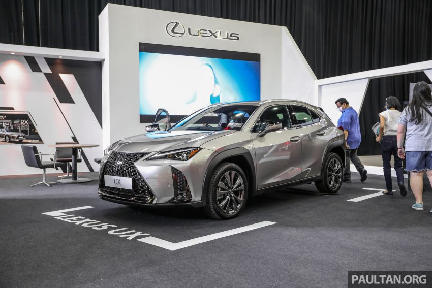 ACE 2021 – Lexus UX available with Next Step financing, immediate delivery, from RM1,938 per month Image #1282536