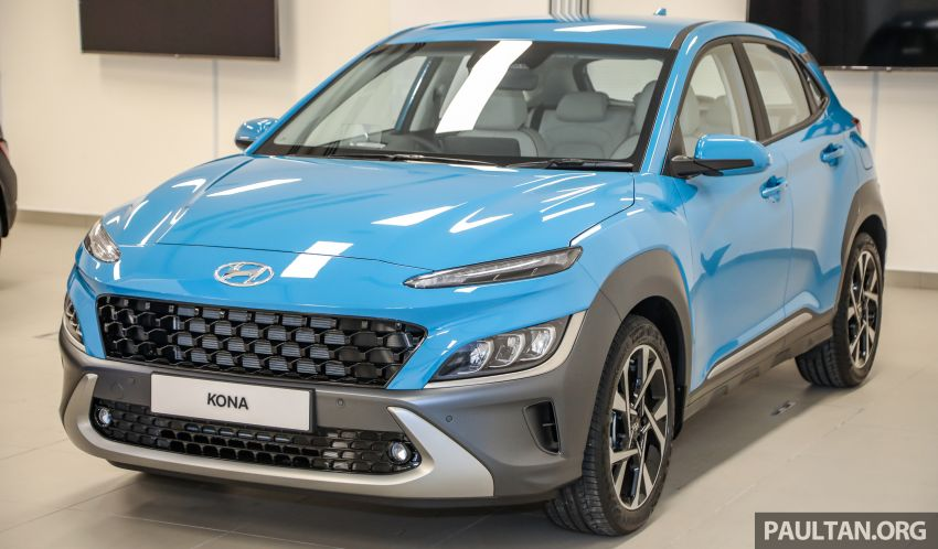 Hyundai Kona facelift launched in Malaysia – 2.0L NA CVT only, Active now with AEB, RM120k to RM137k Image #1280459