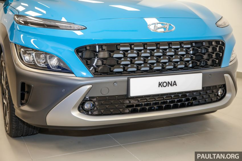 Hyundai Kona facelift launched in Malaysia – 2.0L NA CVT only, Active now with AEB, RM120k to RM137k Image #1280472