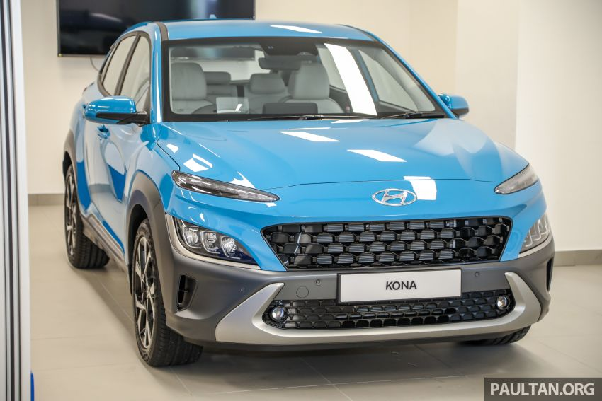 Hyundai Kona facelift launched in Malaysia – 2.0L NA CVT only, Active now with AEB, RM120k to RM137k Image #1280460