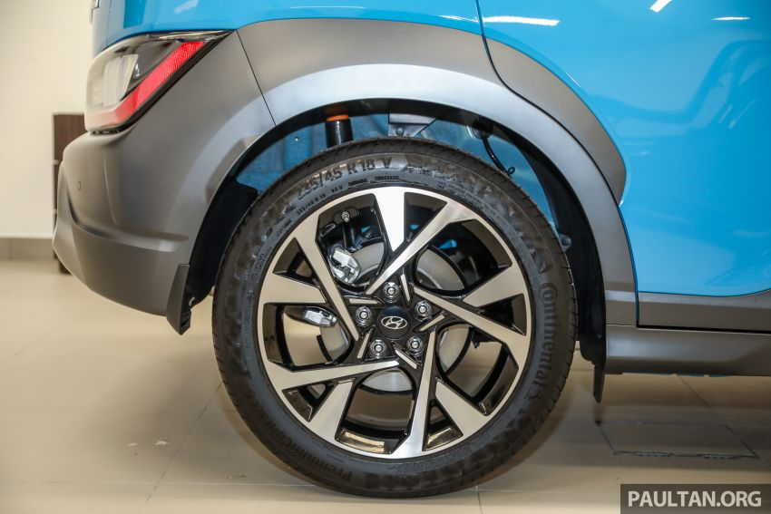 Hyundai Kona facelift launched in Malaysia – 2.0L NA CVT only, Active now with AEB, RM120k to RM137k Image #1280482