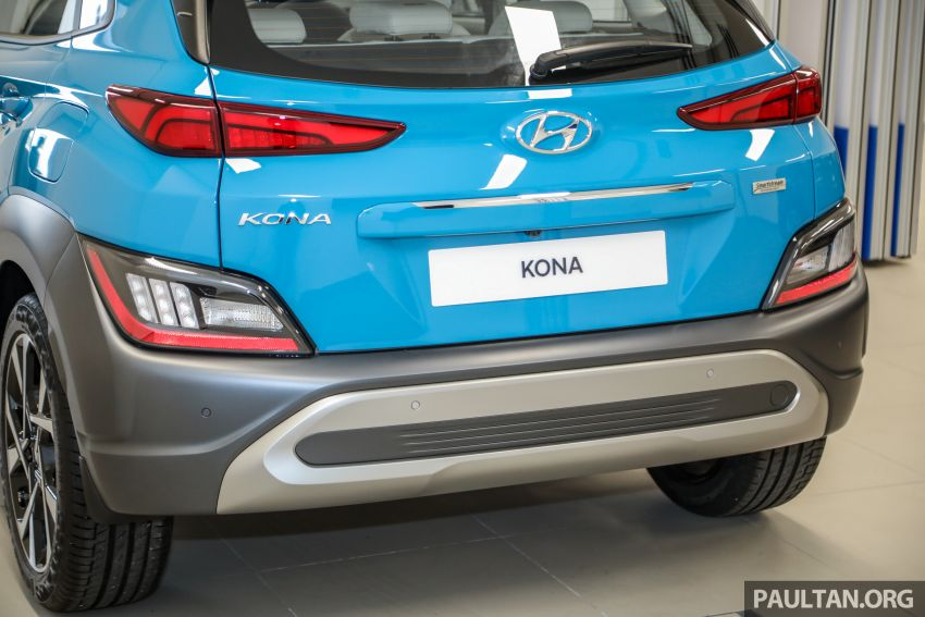 Hyundai Kona facelift launched in Malaysia – 2.0L NA CVT only, Active now with AEB, RM120k to RM137k Image #1280483