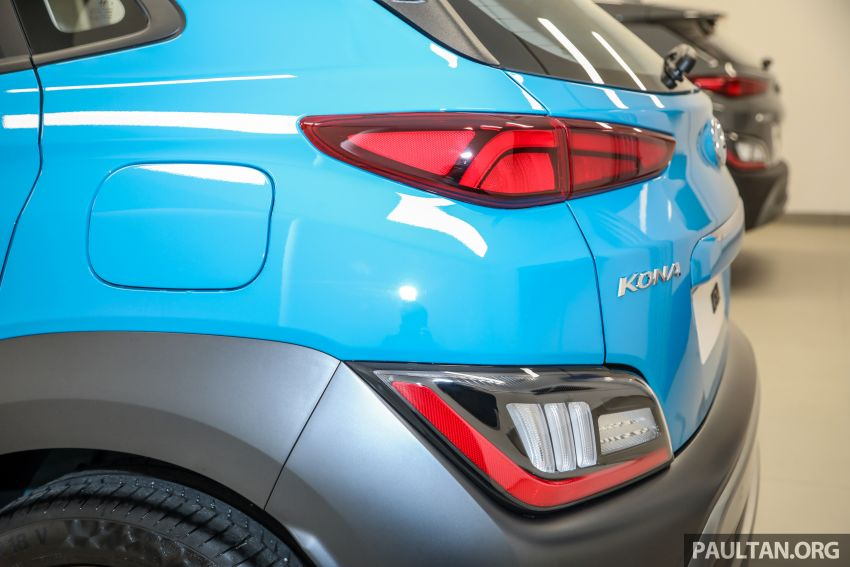 Hyundai Kona facelift launched in Malaysia – 2.0L NA CVT only, Active now with AEB, RM120k to RM137k Image #1280485