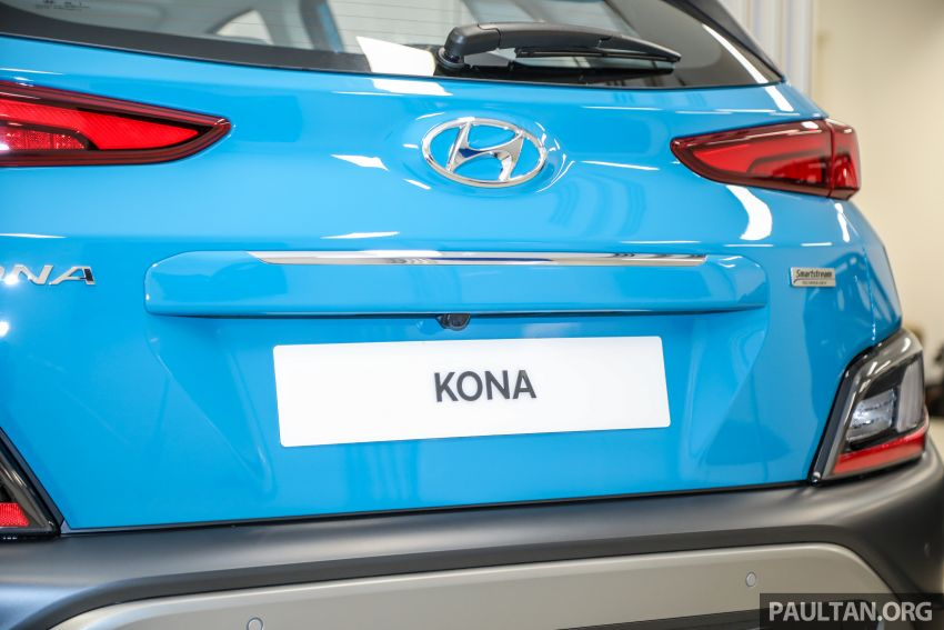 Hyundai Kona facelift launched in Malaysia – 2.0L NA CVT only, Active now with AEB, RM120k to RM137k Image #1280487