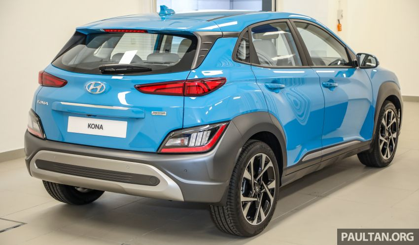 Hyundai Kona facelift launched in Malaysia – 2.0L NA CVT only, Active now with AEB, RM120k to RM137k Image #1280461