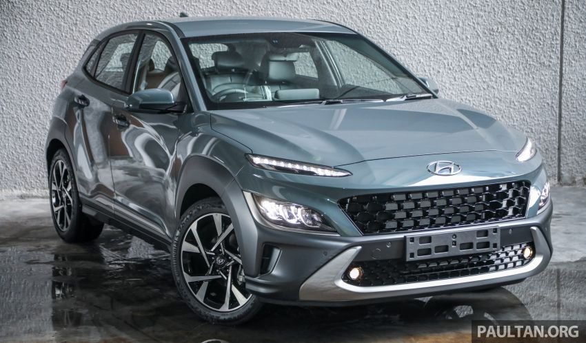 Hyundai Kona facelift launched in Malaysia – 2.0L NA CVT only, Active now with AEB, RM120k to RM137k Image #1280495