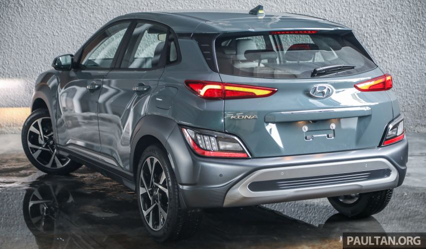 Hyundai Kona facelift launched in Malaysia – 2.0L NA CVT only, Active now with AEB, RM120k to RM137k Image #1280496