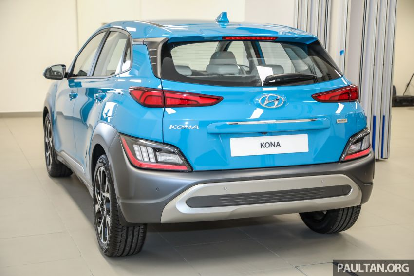 Hyundai Kona facelift launched in Malaysia – 2.0L NA CVT only, Active now with AEB, RM120k to RM137k Image #1280462