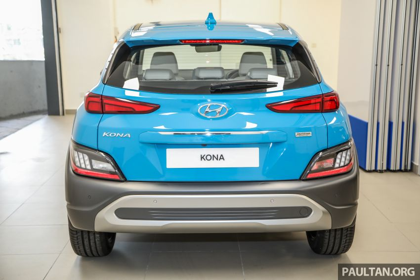 Hyundai Kona facelift launched in Malaysia – 2.0L NA CVT only, Active now with AEB, RM120k to RM137k Image #1280464