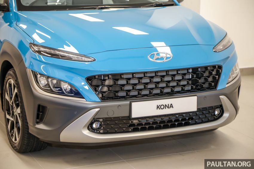Hyundai Kona facelift launched in Malaysia – 2.0L NA CVT only, Active now with AEB, RM120k to RM137k Image #1280466