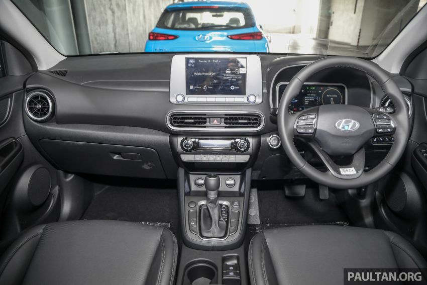 Hyundai Kona facelift launched in Malaysia – 2.0L NA CVT only, Active now with AEB, RM120k to RM137k Image #1280552