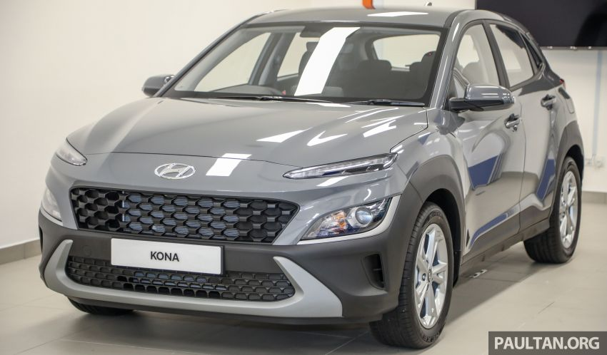 Hyundai Kona facelift launched in Malaysia – 2.0L NA CVT only, Active now with AEB, RM120k to RM137k Image #1280365