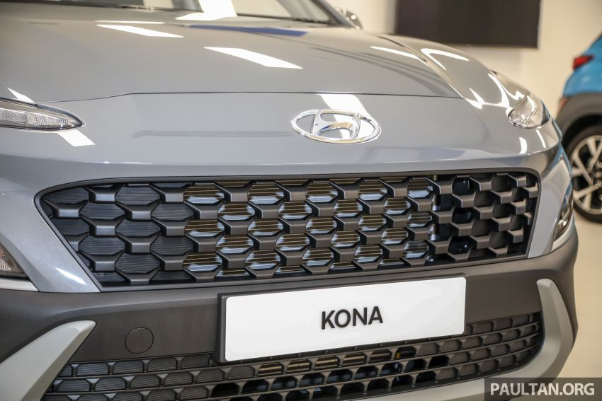 Hyundai Kona facelift launched in Malaysia – 2.0L NA CVT only, Active now with AEB, RM120k to RM137k Image #1280376