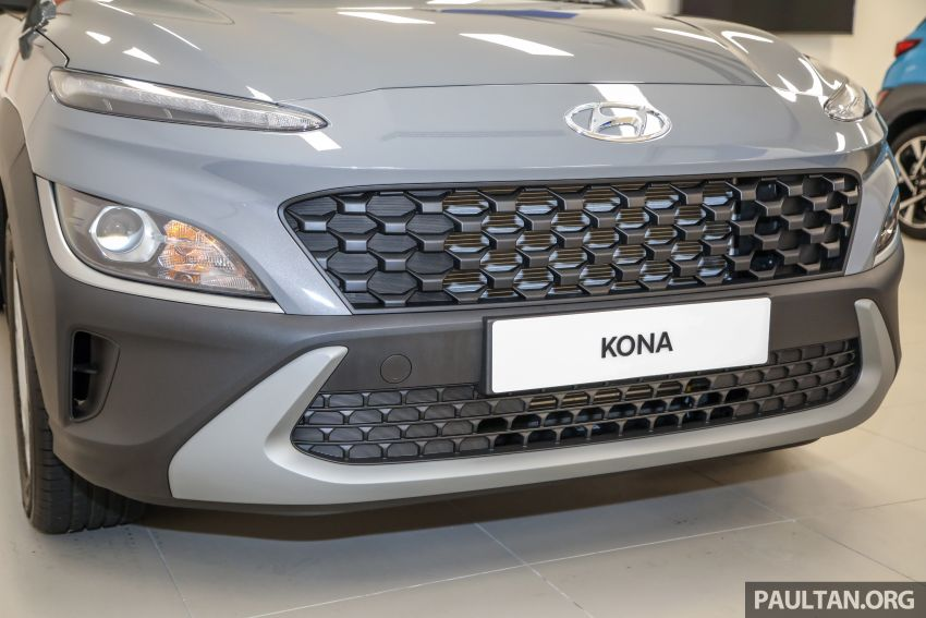 Hyundai Kona facelift launched in Malaysia – 2.0L NA CVT only, Active now with AEB, RM120k to RM137k Image #1280378