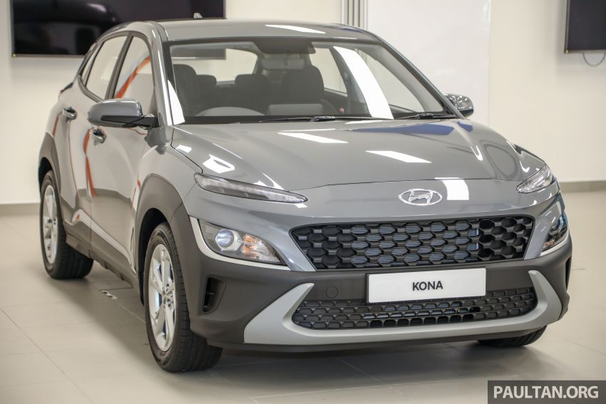 Hyundai Kona facelift launched in Malaysia – 2.0L NA CVT only, Active now with AEB, RM120k to RM137k Image #1280366