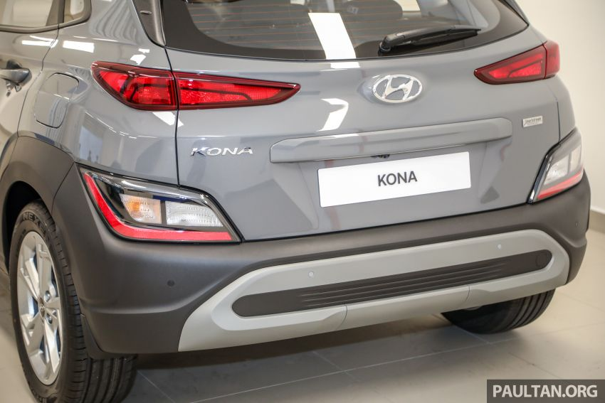 Hyundai Kona facelift launched in Malaysia – 2.0L NA CVT only, Active now with AEB, RM120k to RM137k Image #1280387