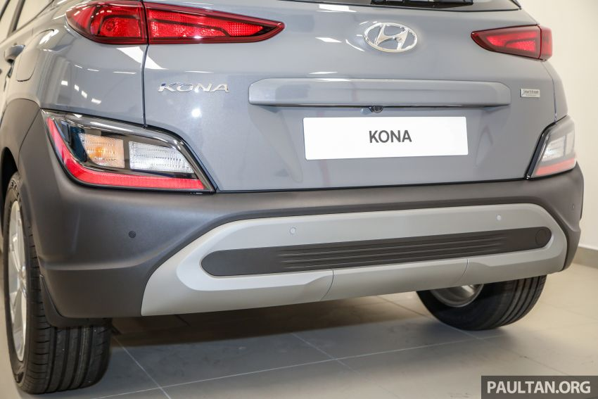 Hyundai Kona facelift launched in Malaysia – 2.0L NA CVT only, Active now with AEB, RM120k to RM137k Image #1280392
