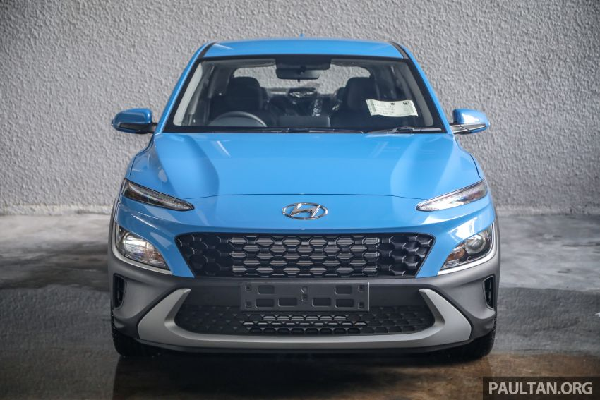 Hyundai Kona facelift launched in Malaysia – 2.0L NA CVT only, Active now with AEB, RM120k to RM137k Image #1280396