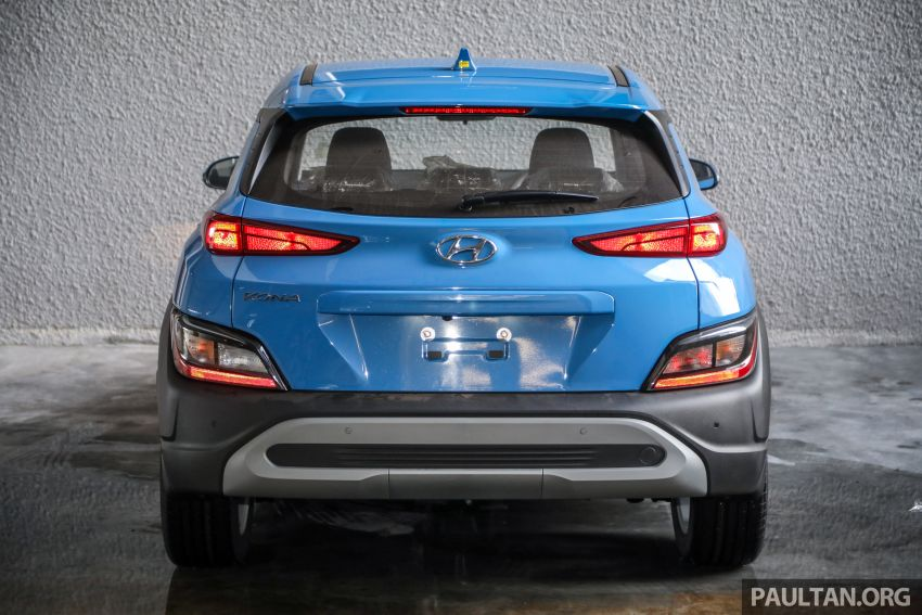 Hyundai Kona facelift launched in Malaysia – 2.0L NA CVT only, Active now with AEB, RM120k to RM137k Image #1280397