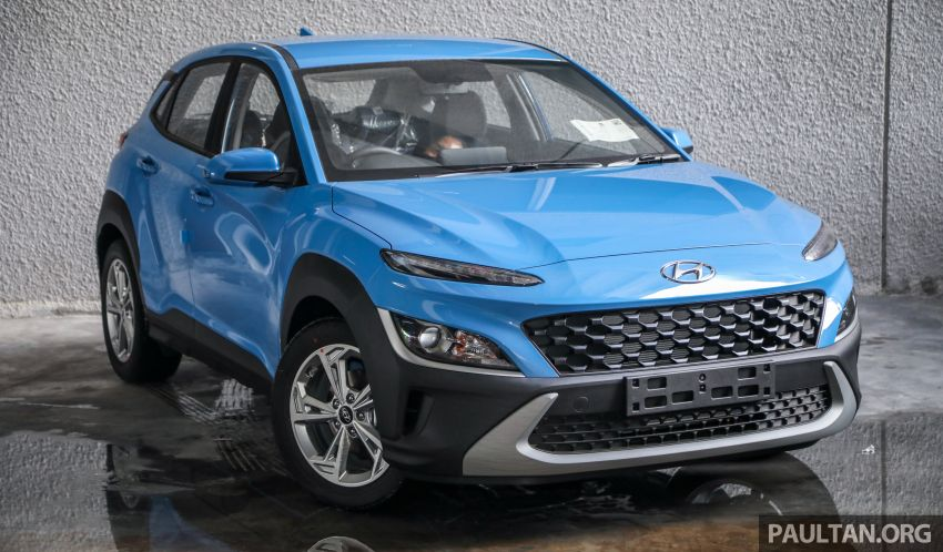 Hyundai Kona facelift launched in Malaysia – 2.0L NA CVT only, Active now with AEB, RM120k to RM137k Image #1280398