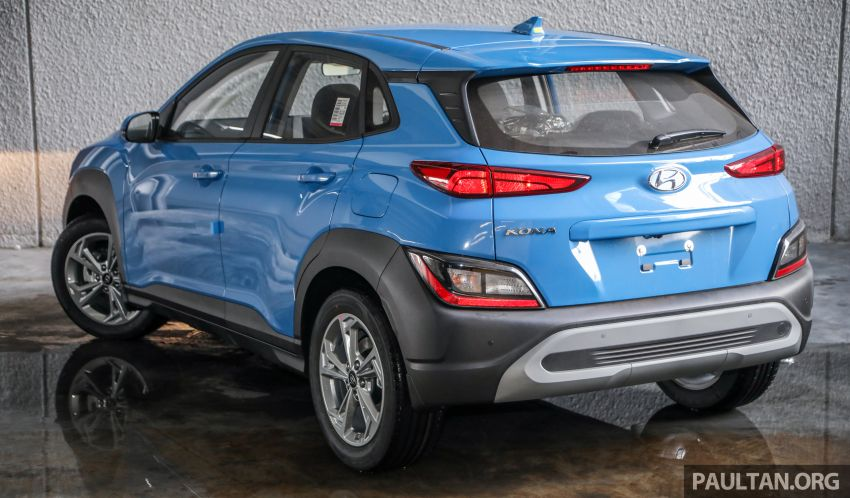 Hyundai Kona facelift launched in Malaysia – 2.0L NA CVT only, Active now with AEB, RM120k to RM137k Image #1280399