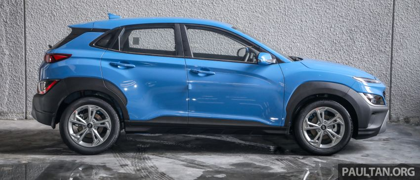 Hyundai Kona facelift launched in Malaysia – 2.0L NA CVT only, Active now with AEB, RM120k to RM137k Image #1280400