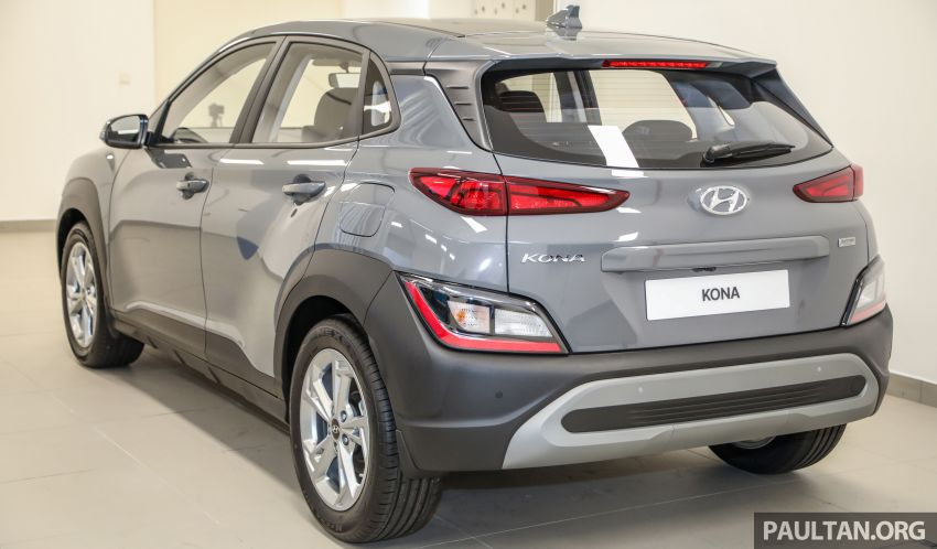Hyundai Kona facelift launched in Malaysia – 2.0L NA CVT only, Active now with AEB, RM120k to RM137k Image #1280368