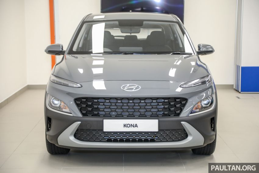 Hyundai Kona facelift launched in Malaysia – 2.0L NA CVT only, Active now with AEB, RM120k to RM137k Image #1280369
