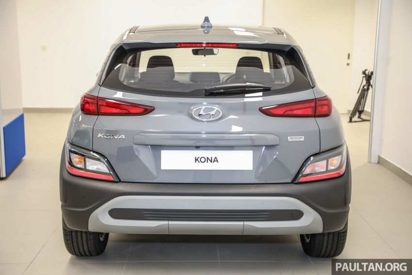 Hyundai Kona facelift launched in Malaysia – 2.0L NA CVT only, Active now with AEB, RM120k to RM137k Image #1280370