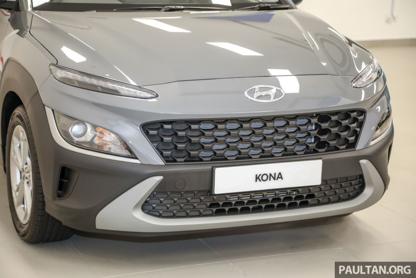 Hyundai Kona facelift launched in Malaysia – 2.0L NA CVT only, Active now with AEB, RM120k to RM137k Image #1280372