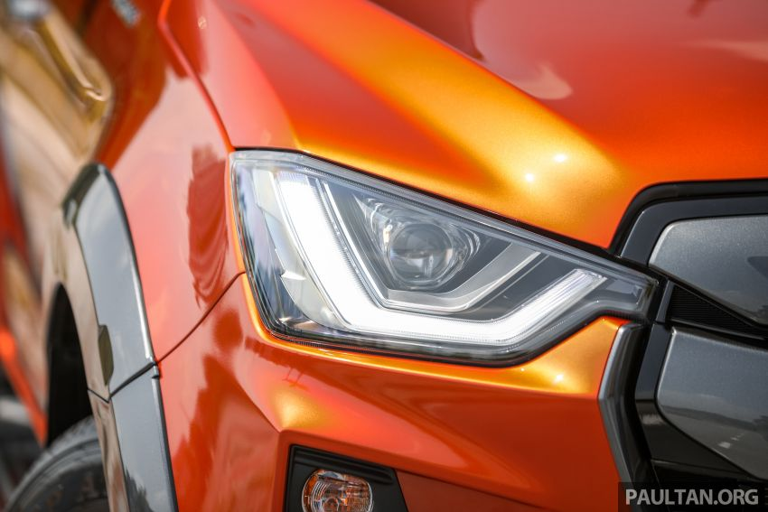 Isuzu D-Max 2021 generasi ketiga di M'sia — tujuh varian, 3.0L turbodiesel baru, ADAS; RM89k-RM142k Image #1281753