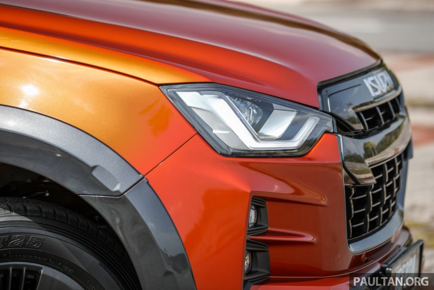 Isuzu D-Max 2021 generasi ketiga di M'sia — tujuh varian, 3.0L turbodiesel baru, ADAS; RM89k-RM142k Image #1281755