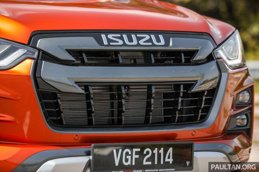 Isuzu D-Max 2021 generasi ketiga di M'sia — tujuh varian, 3.0L turbodiesel baru, ADAS; RM89k-RM142k Image #1281758