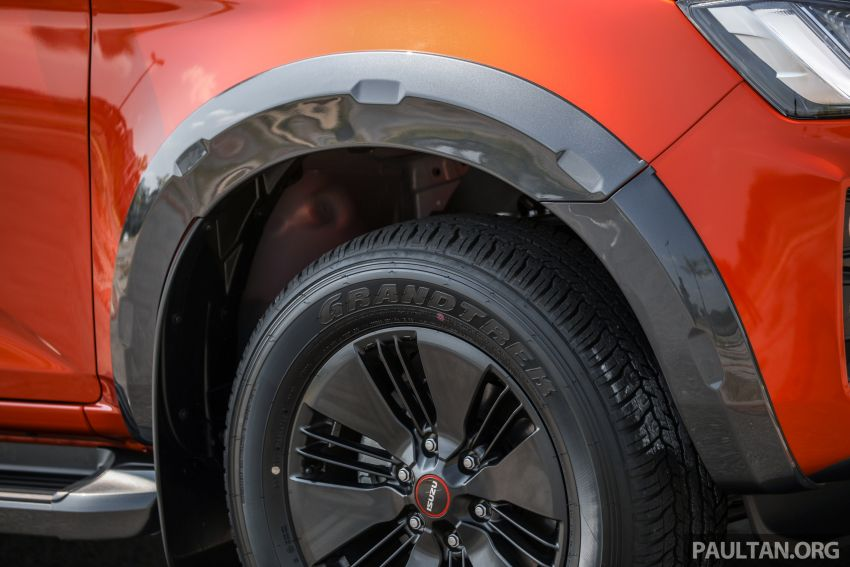 Isuzu D-Max 2021 generasi ketiga di M'sia — tujuh varian, 3.0L turbodiesel baru, ADAS; RM89k-RM142k Image #1281763