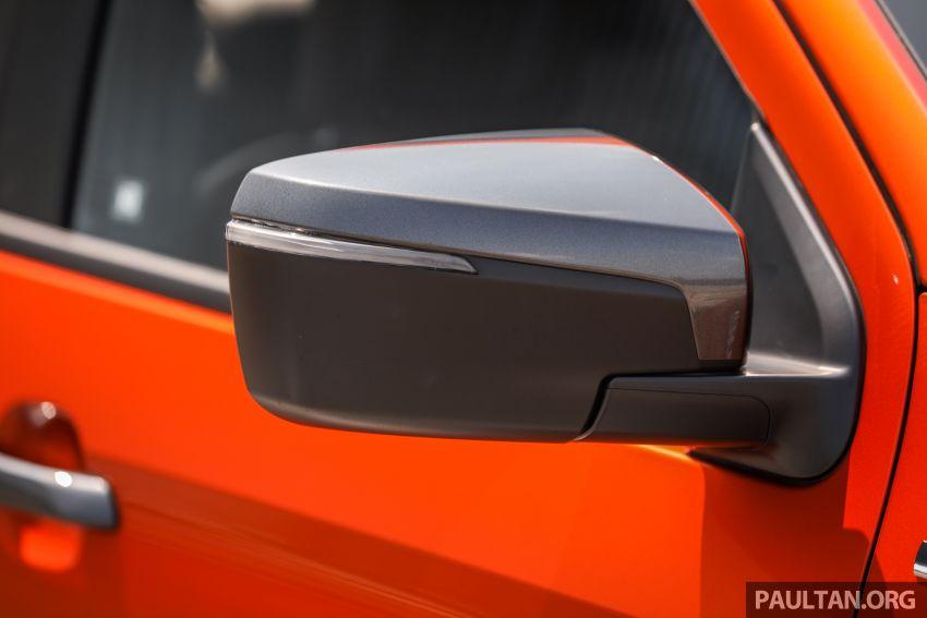 Isuzu D-Max 2021 generasi ketiga di M'sia — tujuh varian, 3.0L turbodiesel baru, ADAS; RM89k-RM142k Image #1281765