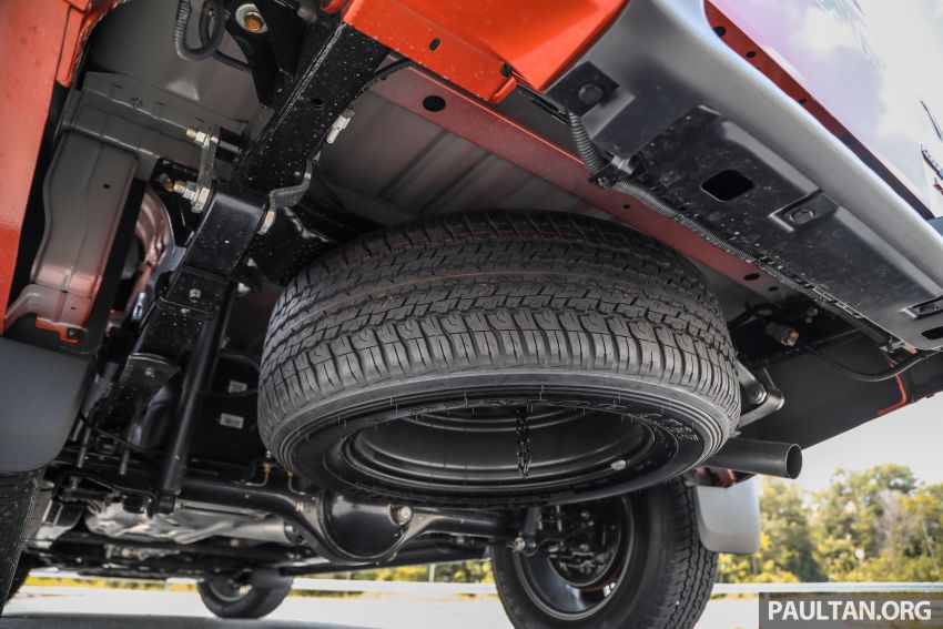 Isuzu D-Max 2021 generasi ketiga di M'sia — tujuh varian, 3.0L turbodiesel baru, ADAS; RM89k-RM142k Image #1281794