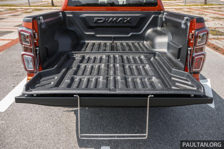 Isuzu D-Max 2021 generasi ketiga di M'sia — tujuh varian, 3.0L turbodiesel baru, ADAS; RM89k-RM142k Image #1281802