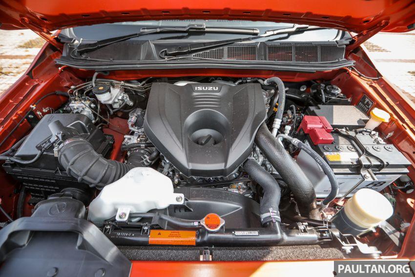 Isuzu D-Max 2021 generasi ketiga di M'sia — tujuh varian, 3.0L turbodiesel baru, ADAS; RM89k-RM142k Image #1281806